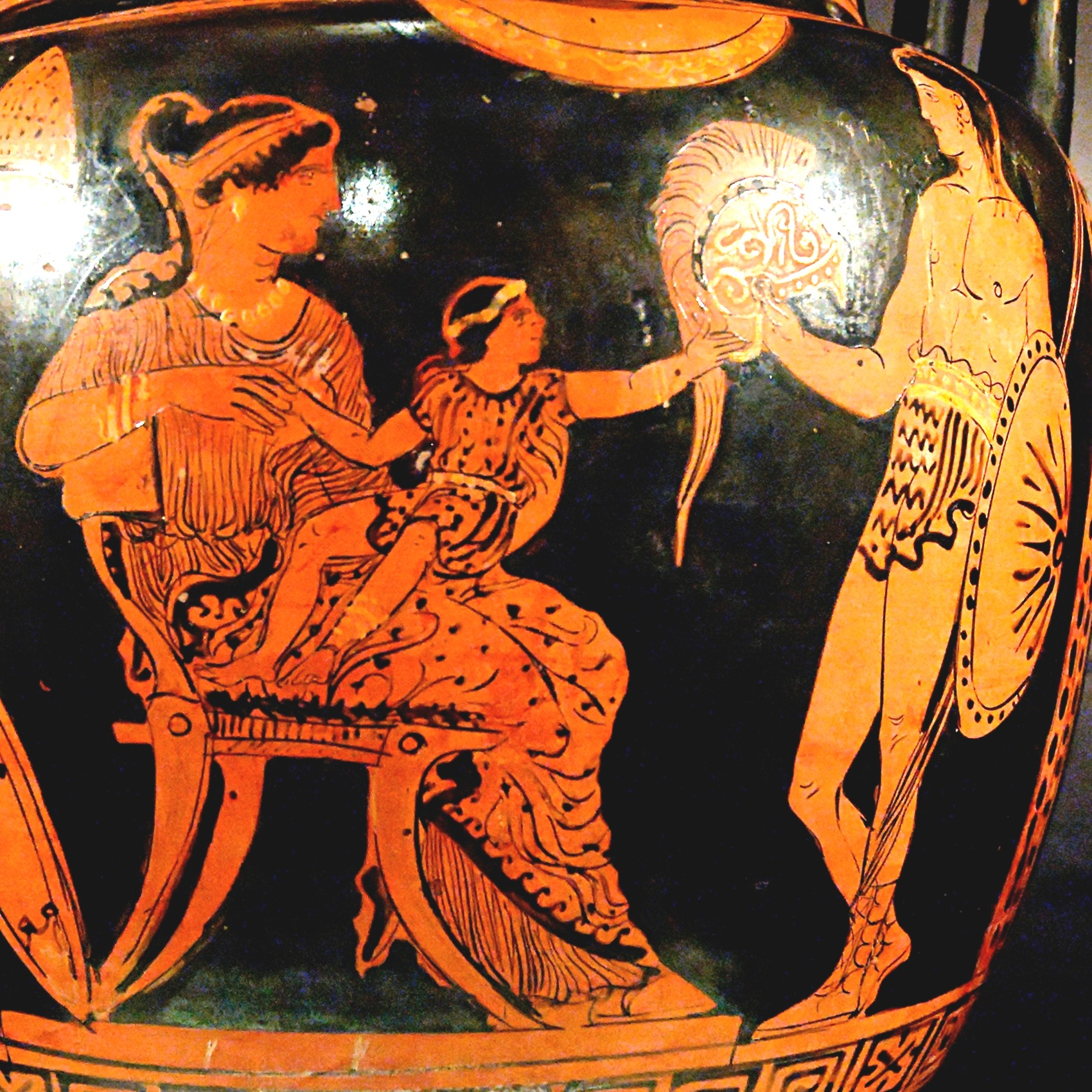 Astyanax with Hector and Andromache