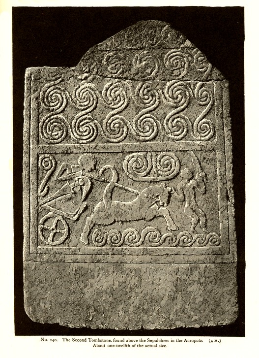 Stele of chariot from Mycenae