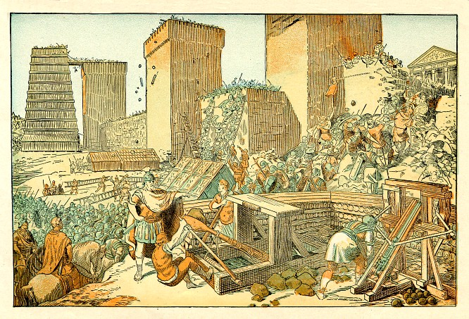 Ancient Roman siege