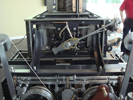 Reconstruction of Babbage's Engine