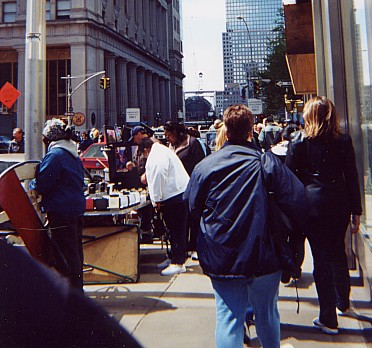 Vendors near WTC site